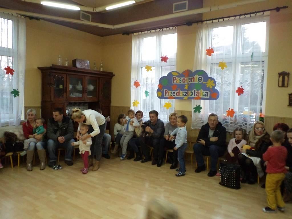 Pasowanie na przedszkolaka w Jedyneczce w Oświęcimiu
