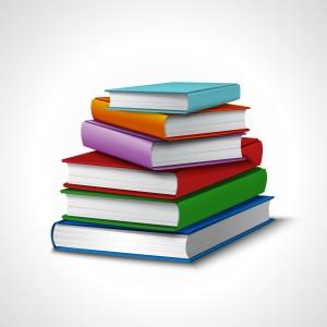 Books Stack Realistic